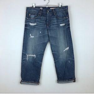 AG Jeans Ex Boyfriend Crop (32R)